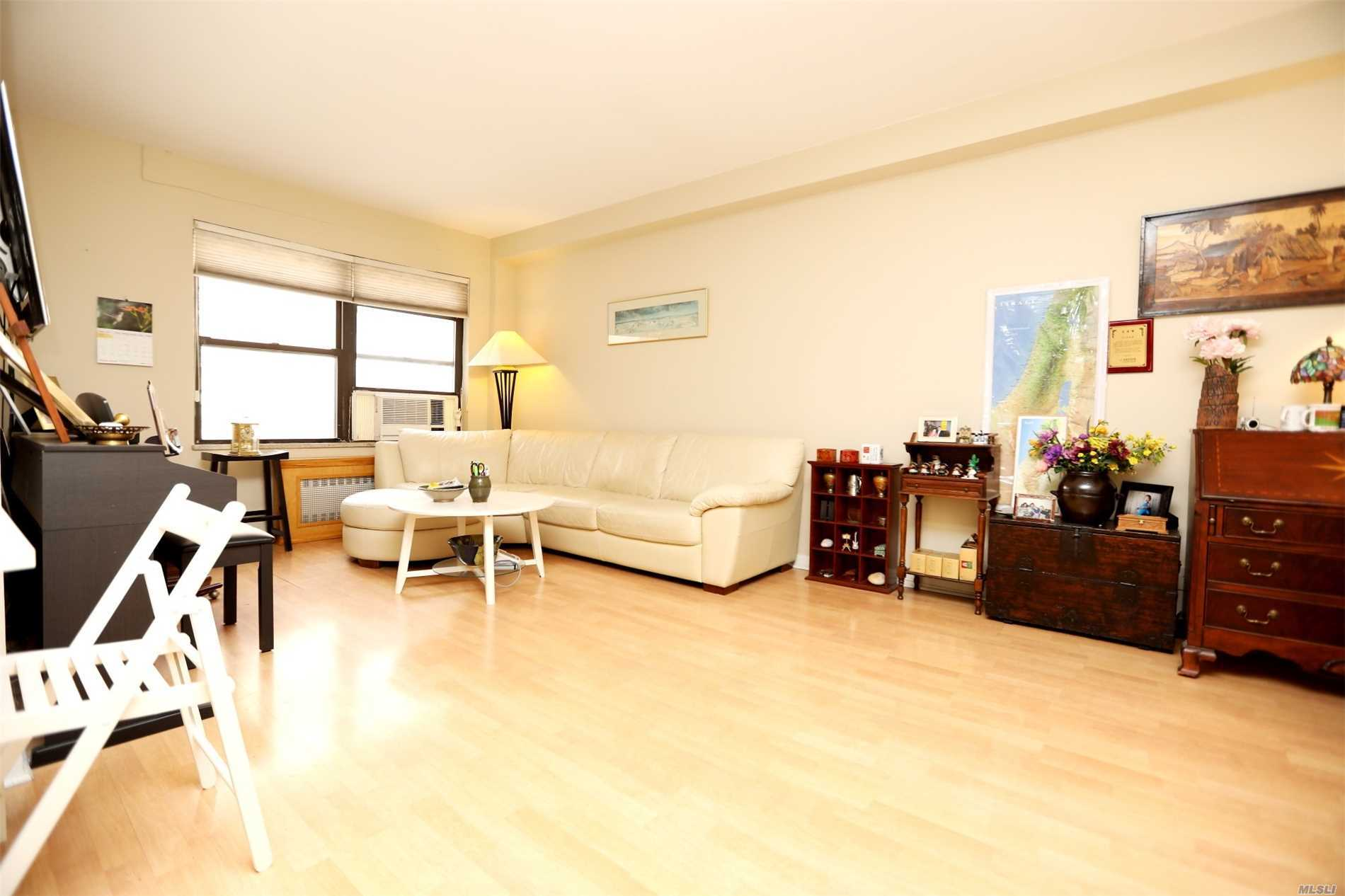Prime Location! 3 Bedroom, 1.5 Bath Duplex In Fireproof Building In Heart Of Rego Park, Renovated Eat-In Kitchen & Powder Room, Pet-Friendly! Close To Transportation: Express Bus, Lirr, 1 Block To M & R Train, Major Highways, Cafes, Boutiques, Nysc Sports Clubs & Services, Garage Available.
