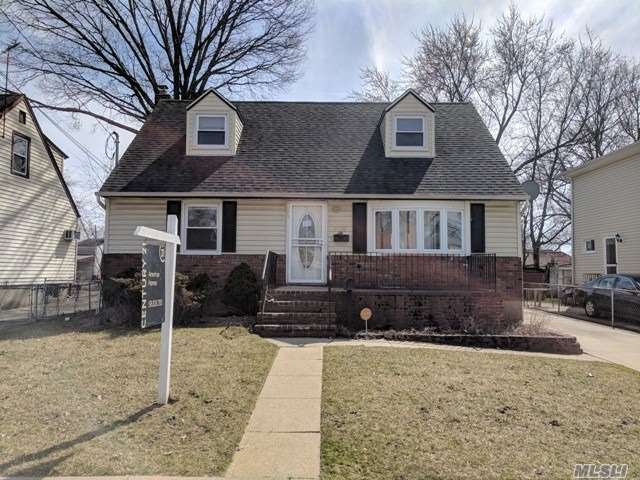 Cape Style Home On Quiet, Dead End Location. Nice Sized Kitchen W/ Dining Room & Living Room. 4 Bedrooms, 2 Full Bathrooms. Full Basement & Detached Garage. Needs A Lot Of TLC To Make It Home Sweet Home Again! Come & See What Could Be!