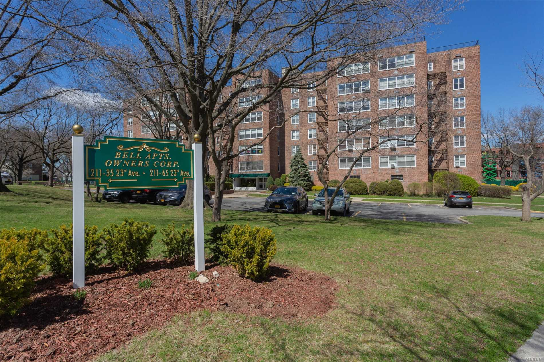 Move right into this Renovated Oversized 2 bedroom located in the heart of Bay Terrace. Great layout, lots of closets, central air/heat. Unit comes with RESERVED PARKING. Convenience galore! Steps to Bay Terrace Shopping center, minutes to LIRR, Express bus to city/flushing a brief stroll away.Hurry~ this wont last!!