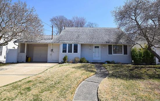 Charming Cape Midblock in Desirable Massapequa Park . Featuring a Beautifully Renovated Eat In Kitchen. Four Bedrooms  Beautiful Yard with Patio , Perfect for Entertaining. A Must See !!