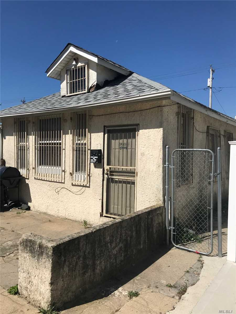 New Roof. Nice Cape has 3 Bedrooms and a Full Bath, No Basement. Needs Some TLC. Close to Transportation and Shopping Centers.