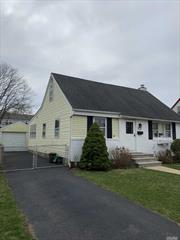 CLEAN WELL MAINTAINED EXPANDED CAPE, 4 BEDROOM WITH 2 FULL BATHROOMS