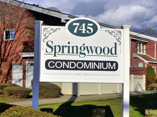 Great for Commuters!!!!! Come see this lovely 1 bedroom Ground Floor Condo in the heart of Farmingdale. Enter into a large living room that connects to a dining room. Large eat in kitchen with dishwasher and lots of cabinets. Master Bedroom with walk-in closet and extra closet. Washer and Dryer in the Condo. Close proximity to Farmingdale LIRR Station and Main Street Farmingdale where you will find restaurants and shopping.