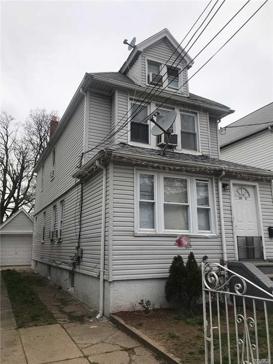 2 family Located in Jamaica. Next to Q 40, E Train. Full finished basement and Attic. whole House is in good condition. the house is tenant occupied.