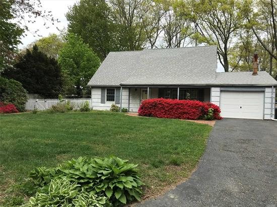 Beautiful Expanded Cape w/ Sewers, in the Desirable S-Section of Strathmore! Updated Kitchen/French Door/Windows & New Floors! Freshly Painted! Perfect Mid-Block Location! Park like All Fenced back yard. Close to SUNY, LIRR, Park, Beaches, Stores! Sold As-Is. Must see!