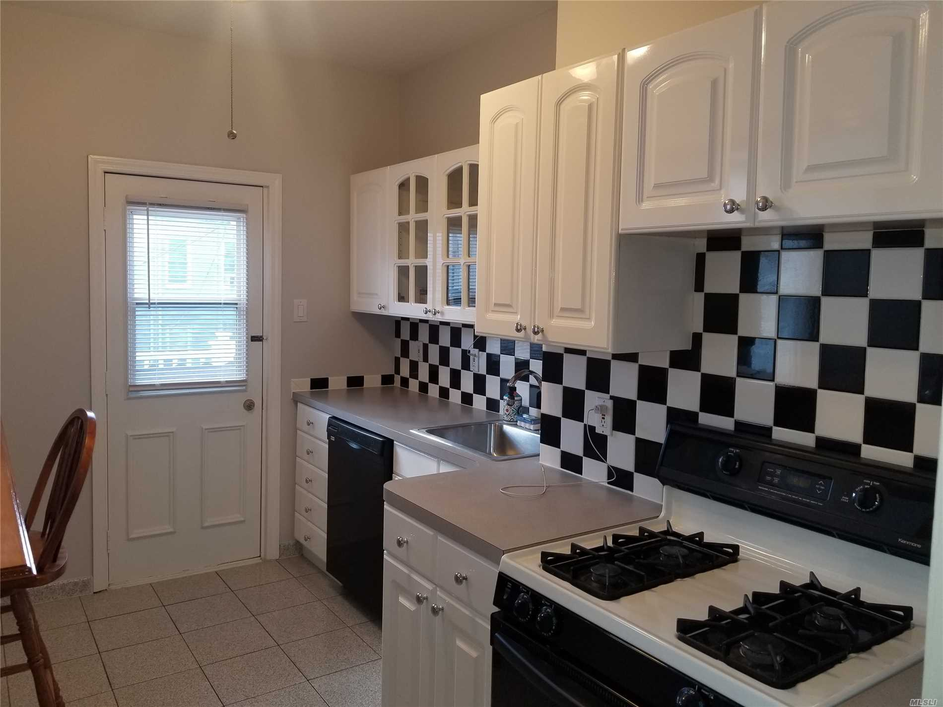 Renovated and freshly painted with all utilities included. 1st floor apartment with use of backyard deck. No Pets Permitted. 1 bedroom, Office, Kitchen leads to backyard deck Living room, 1 Full Bath.