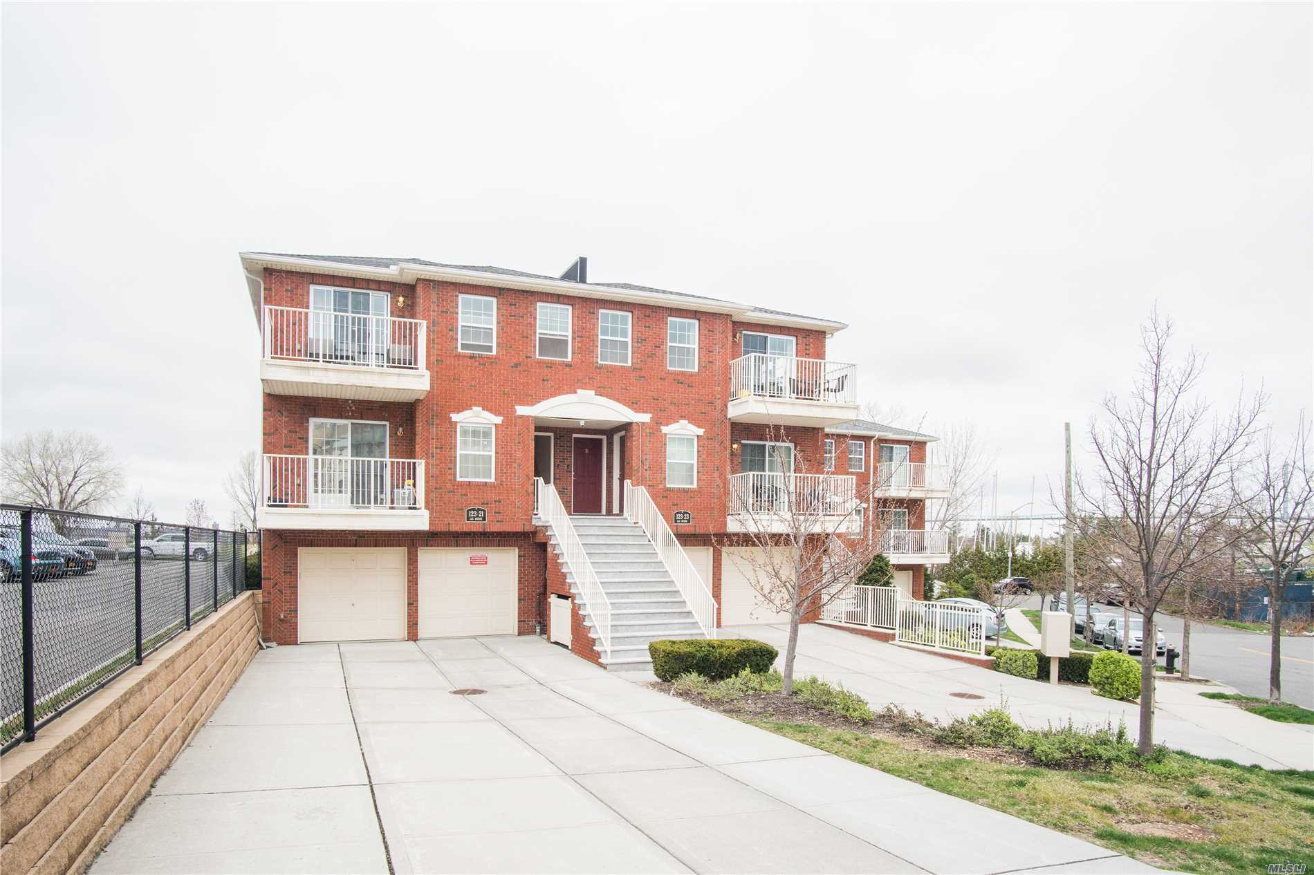 Excellent Condition Huge 3Bed 2Bath Condo Unit With Water View From Master Bedroom. Conveniently Located Near Waterfront Walkway Great For Morning Jogging Or Just Leisure Strolling. Only a couple of blocks to Hermon A. MacNeil Park. Unit is situated right in front of the Yacht Club. Spacious Walk In Closet And Kitchen With Large Island. Low Common Charges And Tax Abatement Until 2026. This Condo Unit Includes A Parking Spot.