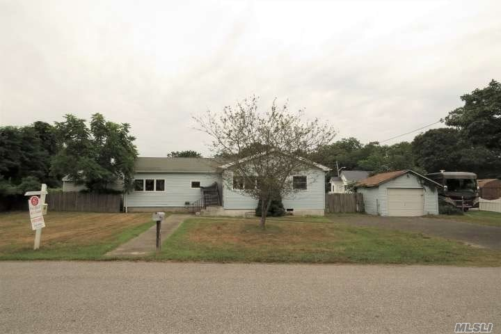 Spacious ranch located on quiet residential street. This 3 bed, 1 bath home features wood floors through out. Wood paneled ceiling fans in bedrooms and dining space. Large master bedroom w/ plenty of closet space. Plenty of windows provide an abundance of natural light. 1-car detached garage. Attic and part basement for extra storage. Large fenced yard, perfect for families or pets. Located close to ocean beaches and marina.