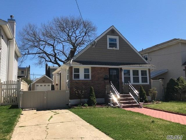 BEAUTIFUL CAPE COD WITH UPDATES THROUGHOUT FEATURING 4 BEDROOMS, 2 FULL BATHS, FINISHED BASEMENT, 1 CAR DETACHED GARAGE PRIVATE BACKYARD