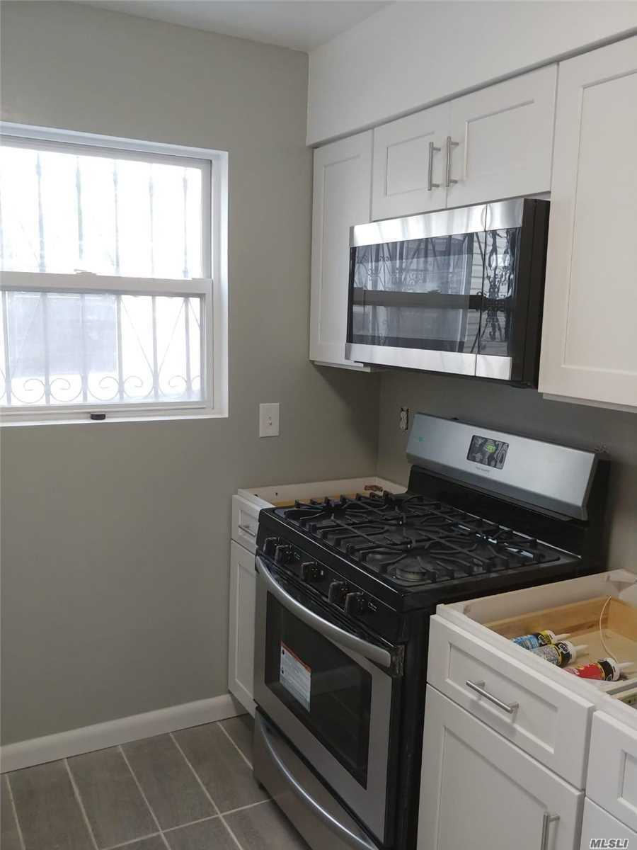 Fully Renovated 2 Bedroom 1 Bath 1st Floor unit. Close To All. Public Transportation Very Accessible.
