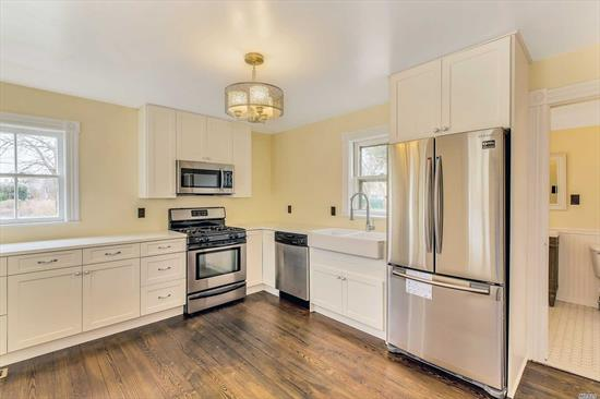 Tastefully Updated 1900s Farmhouse. 4 Bedrooms, 1 1/2 Baths. Beautiful Wood Floors. 2 Enclosed Porches. Large Garage/Barn. Nice Size Yard with Ample Room for Pool. Short Distance to Village Center, Winery, Marina and Long Island Sound and Peconic Bay Beaches.