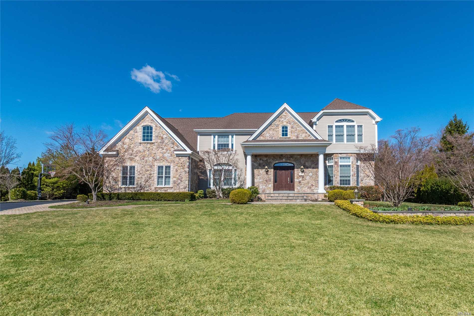 Shows Like A Model Home!! Elegant 5, 000 Sq Ft Impeccably Maintained Home! This 5 Bed/3.5 Bath Astor Model Has Incredible Detail thruout. Two Story Entrance Foyer, Beautiful Custom Kitchen w/ High End Appliances opened to the Great Rm w/ Gas Fplce, FLR, FDR, Mster Bdrm Suite w/ lots of Closets, Finished Over-sized Bonus Rm, Enormous Basement w/ 10 ft Ceilings, Pretty Paved Patio w/ Outdoor Fplce, Kitchen & Prvate Yard, 3 Car Garage, Professionally Painted. Turn Key. Taxes being grieved
