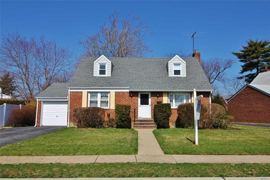 Well maintained 4 Bedroom, 2 Full Baths, Cape Style Home. Gas boiler and gas hot water heater. There is a large private backyard with outside entrance to the basement. Great for entertaining! Excellent Elmont location, only a short distance to Southern State Pkwy, Belt Pkwy and Cross Island Pkwy. 10 minutes to JFK Airport.