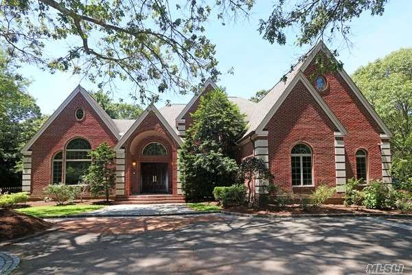 Extraordinary brick residence featuring grand 2-story entry foyer, gourmet eat-in kitchen, wood floors, 5 bedrooms, 3.5 baths and large principal rooms. The backyard is an entertainer's delight with in-ground, gunite pool, blustone patio and mature plantings. 2 parcels totaling 2 acres 26-A-1173B & 26-A-1173A.