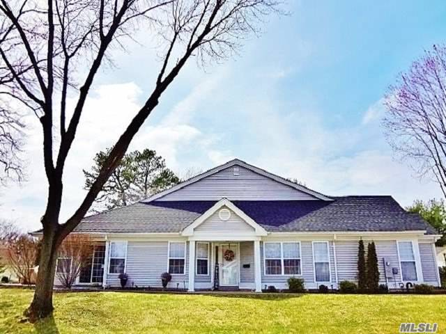 Home Awaits You-Beautiful & True, Sought-After Greenport Model Completely Renovated In The Beautiful 55+ Active Community Of Leisure Glen. Greeted By An Inviting Approx.1, 635sq.ft. Floor Plan. Living Rm, Dining Rm, Den, Eat-in- Kitchen, Master Suite, Second Bedroom and Bath. One-Car Garage w/Direct Access. Countless Upgrades To Please A Discriminating Buyers Taste, Including Central Vacuum. Gated Community w/24 Hour Manned Gatehouse Security, Clubhouse w/Resort Like Amenities and So Much More!