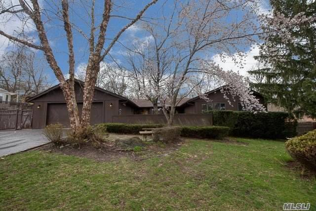 Unique sprawling ranch on half acre in Sachem (East). 4br 2.5ba custom home with office, formal dining area, EIK, LR & Den. Finished basement with OSE. Look past the cosmetics and you'll see that this home is worth the needed TLC.