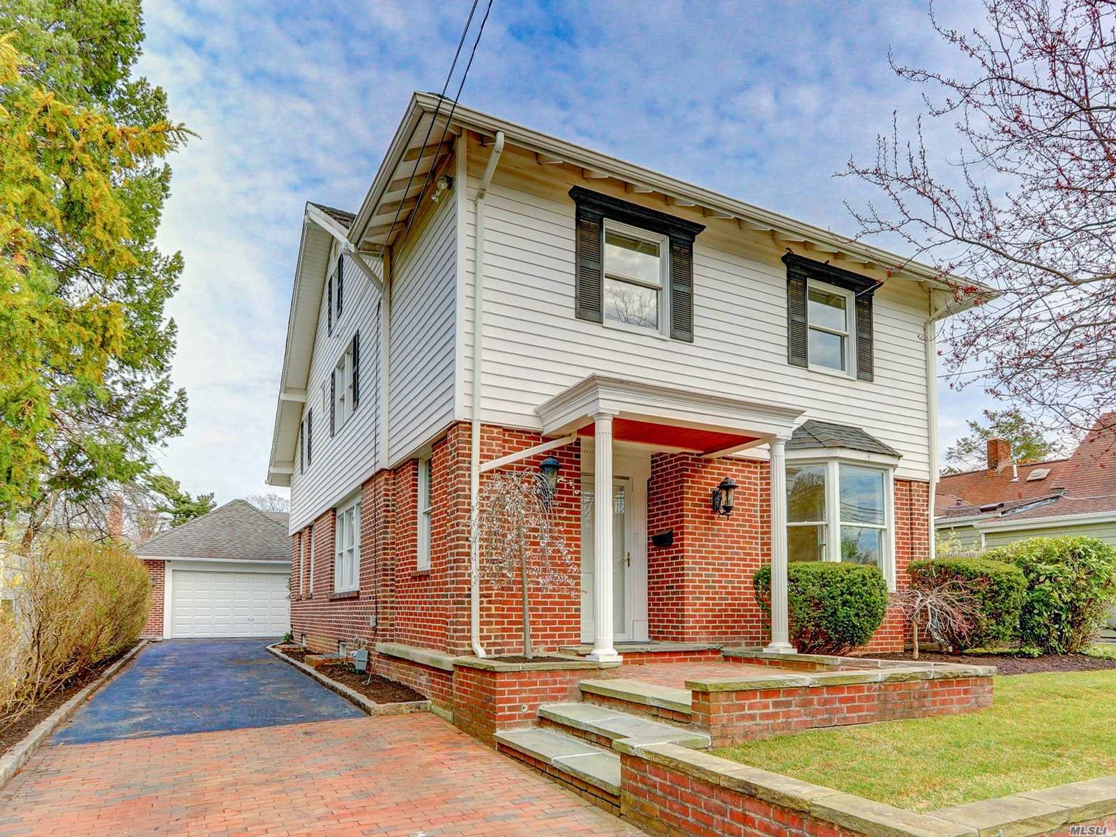 This renovated Colonial Style Home Features 5 Bedrooms, 3 New Baths, Formal Dining Room, updated Eat In Kitchen w/ granite counter and stainless steel appliances, fresh paint, new carpet, refurbished wood flooring, 2 car garage etc. Move right in. Don't miss this opportunity! Centrally Located To All.