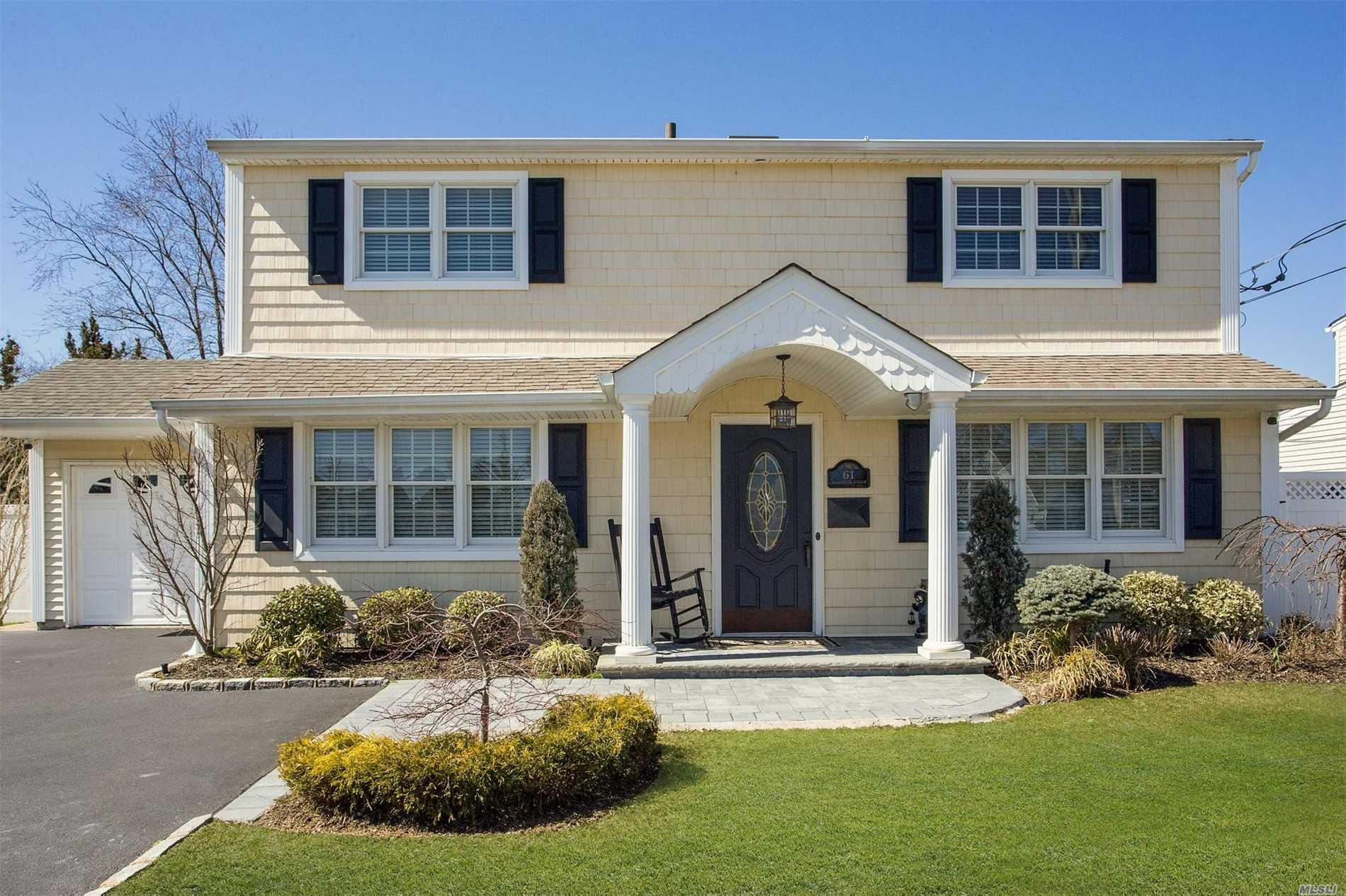 Prepare to be Awed! This Chic 3 BR, 2 Bath Colonial is Simple, Spacious, Sparkling & Great for Entertaining!!! Updated within the past few years, it's more than just a Home...it's a lifestyle!! Enviable location for years to come!!