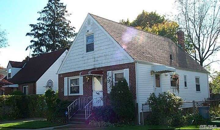 This well Maintained Cape has 4 bedrooms, living room, Eat-in Kitchen, Bathroom, Full Finished Basement.
