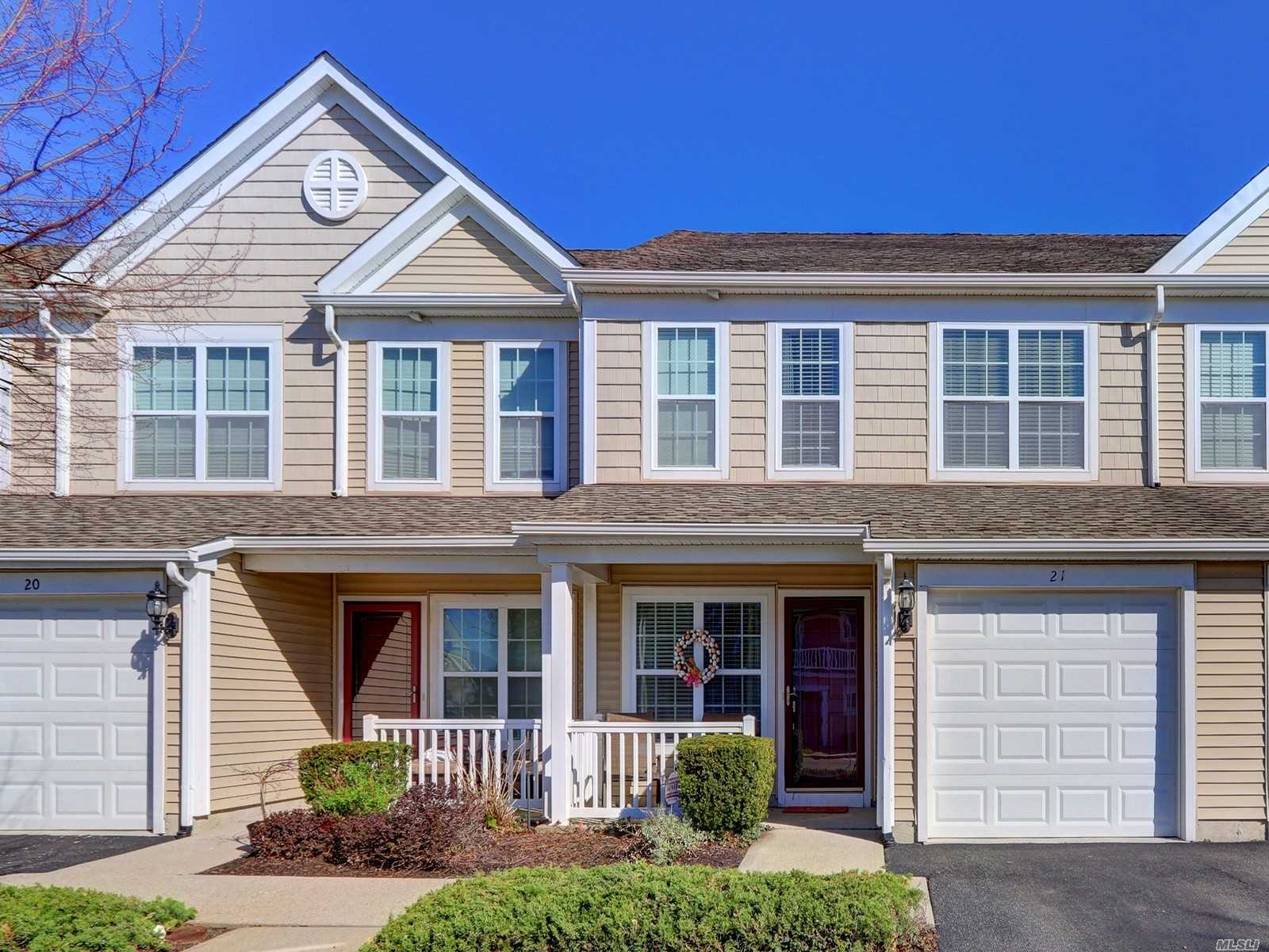Great opportunity to own a two level Townhouse in a beautiful community.  Must be a first time buyer or not have owned a property in the last 5 years. New flooring on the first level. Unit built in 2008. Both bedrooms have walk-in closets. Full size washer/dryer . One car garage with interior entrance.