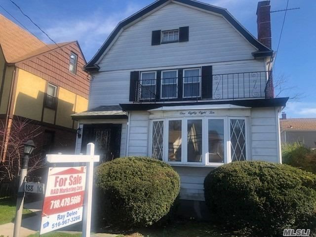 3 bed room over 3 bedroom fire place in each apartment. Very nice layout for each apartment. Formal dinning . Wood Floors. Large high ceiling basement fully finished one large family room with full bath, out side entrance. Long driveway to large rear yard.