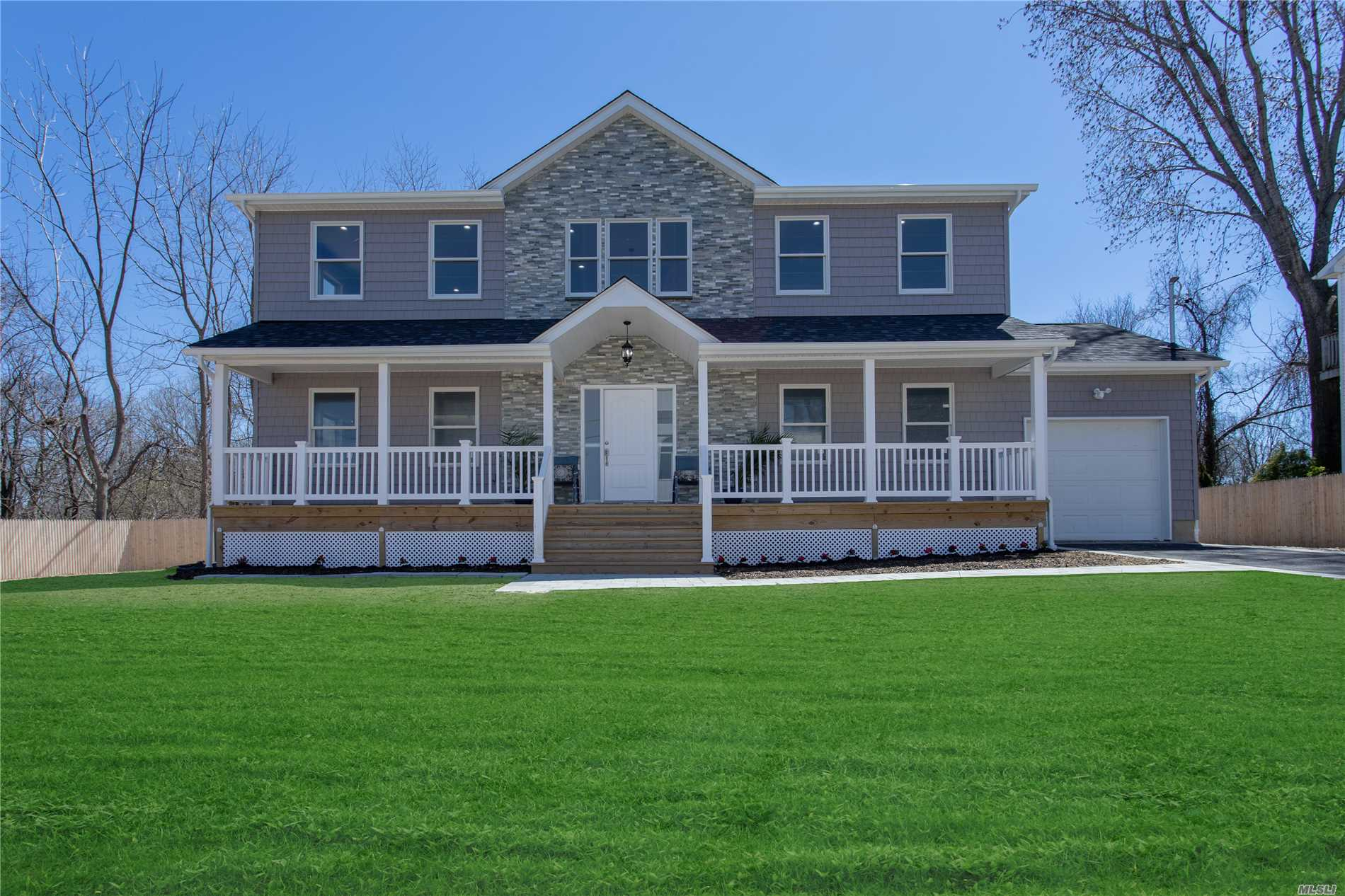 Absolutely Stunning New Construction, Boasting A Gracious Open Floor Plan, High End Finishes, Gorgeous Hardwood Floors Throughout, 4 Spacious Bedrooms & 2.5 Baths, Scenic Waterview, Just 1000 Ft From Waters Edge! Stunning White Center Island Kitchen With Quartz Counter Tops, Stainless Appliances & Pretty Backsplash. First floor media/5th bedroom plumb for 4th bath Elegant Master Bedroom With Spa-Like Master Bath, Situated On .25 Acre In The Kings Park School District. Backs Park Great Privacy!