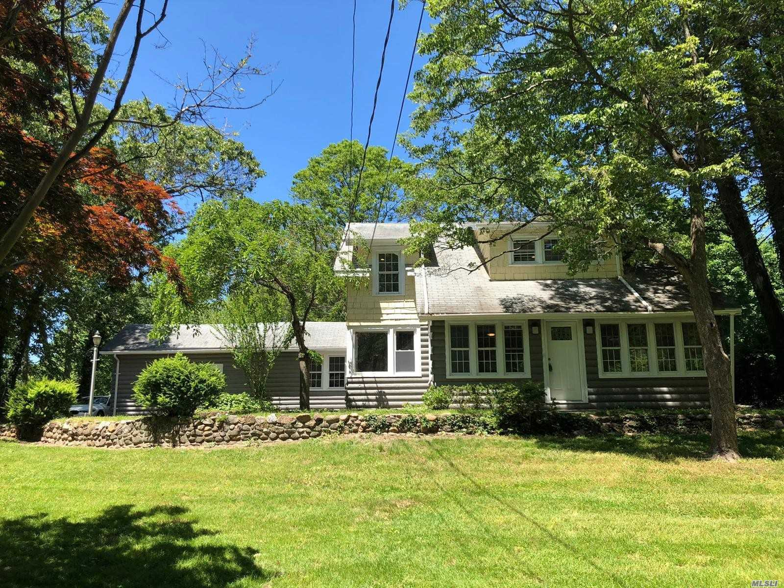 Beautifully Renovated Colonial style house, Featuring 5 Bedrooms, 2 full Bathrooms, Central Air Wood floors and carpeted bedrooms, LED lighting throughout , Swimming Pool, full unfinished basement,