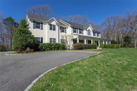 Welcome to this 4 Bed/3.5 Bath Colonial Built in 2005. Situated on 1 Acre W/ a Great Cul-de-Sac Location! Plenty of Room For A Pool!! Eik W/ Stainless Appliances & Granite Counters, Fam Rm W/ Gas Fireplace. Hardwood Floors, Beautiful Moldings, Mbed/Mbath W/ Dual Walk-in Closets, Central Air/Central Vac, Full Basement (Part Finished) In-Ground Sprinklers, Taxes Are Being Grieved. S. Huntington SD #13.
