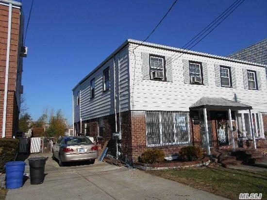 legal 2 family 2/F 3 bedroom apartment, washer , dryer in the unit walk to PS 173 & JH 216