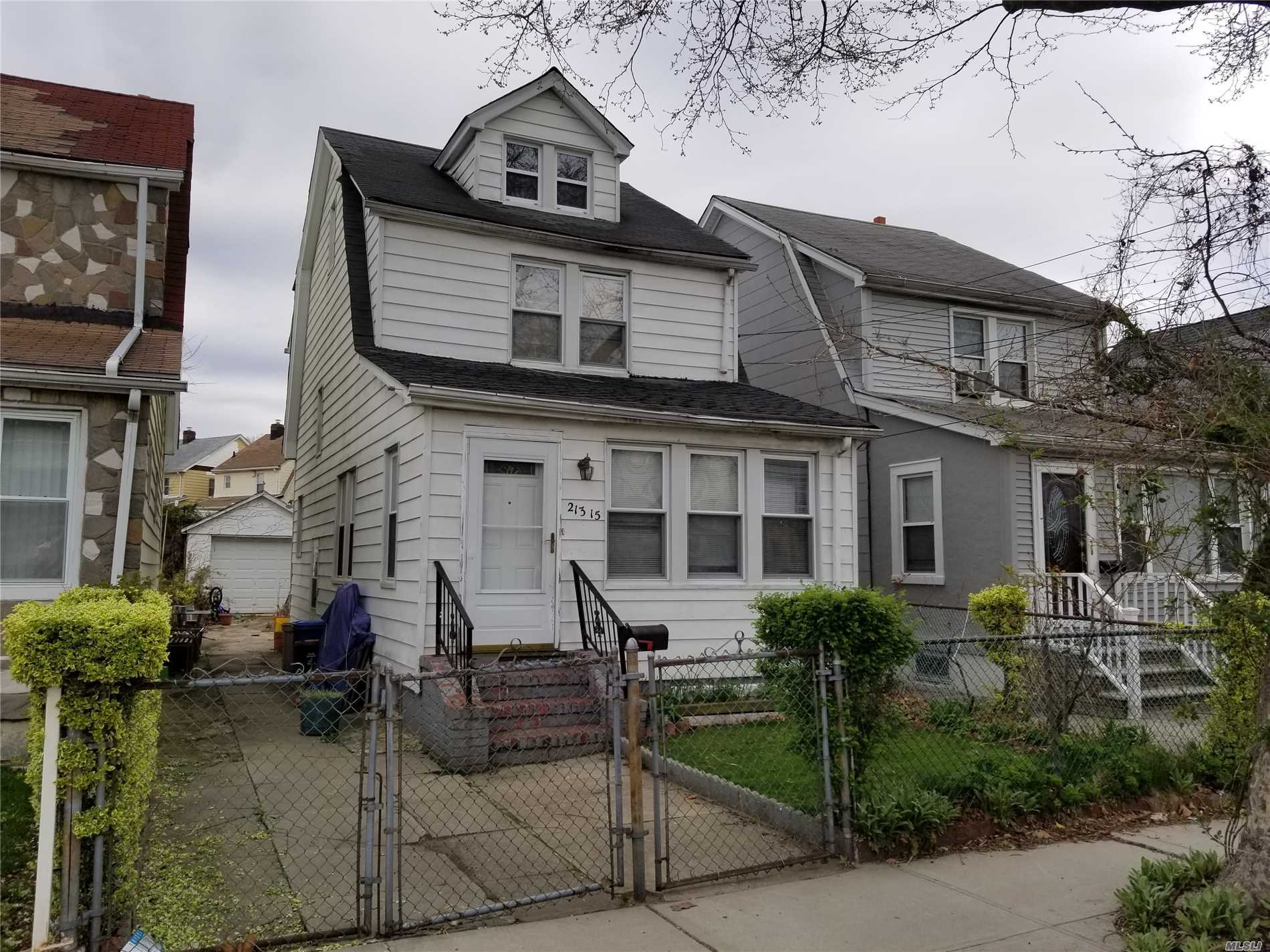 Great home with potential. This property is being sold As Is. May require cash or a renovation loan.