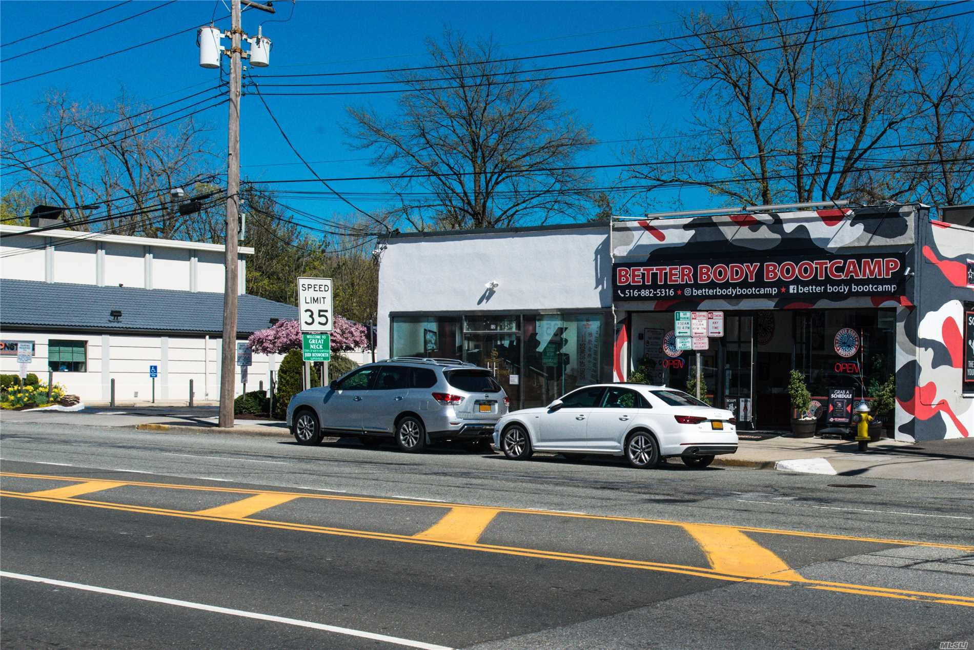 The property consists of a retail space located in Great Neck right on Northern Blvd. The space is approximately 2, 500 sq ft of ground floor retail with approximately 375 sq ft of basement space, with 25 feet of frontage on Northern Blvd. This is the perfect opportunity to secure a storefront on one of the major thruways in Long Island and Queens.