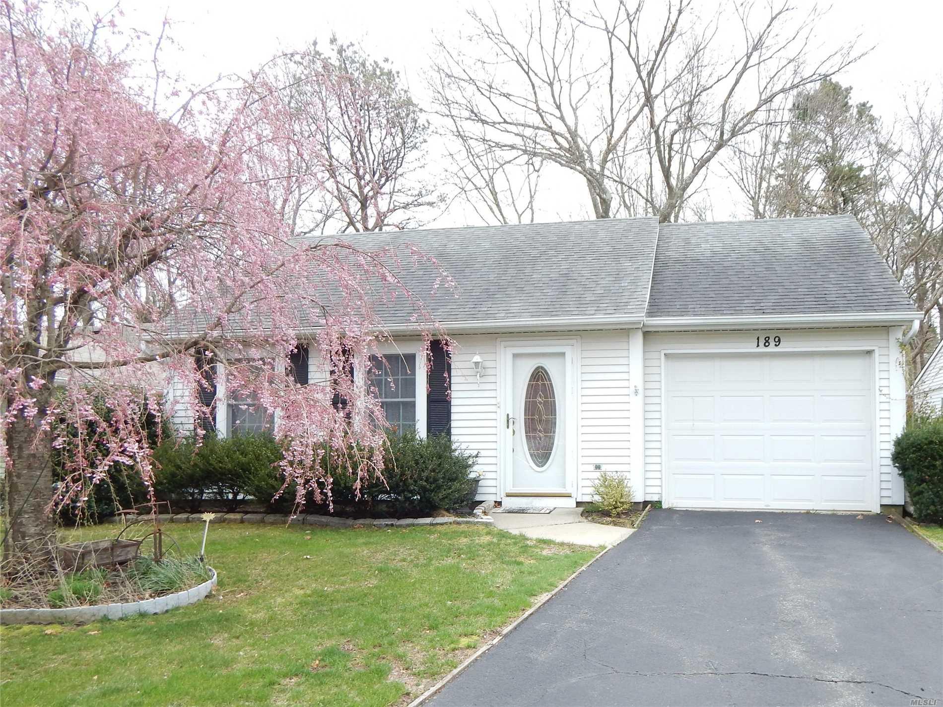 Beautiful two bedroom one bath home in pristine condition with a lovely light and bright sunroom overlooking a private backyard. Central Air installed 2009 and Hot Water heater installed 2014. Come see what may be your new home.