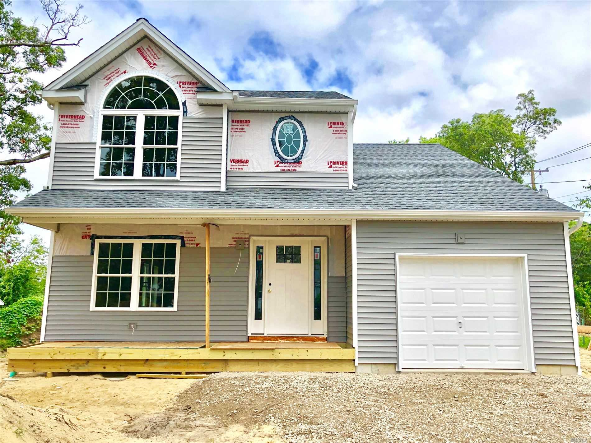 Still Time to Customize Your Dream Home. Choice of Granite and Cabinets in Kitchen, Hardwood Floors, 2 Zone Central Air & Oil Hot Water Heat, Master Suite, Plus 3 Bedrooms, Choice Of Carpet Color in Bedrooms, 8 Ft Ceilings in Basement with Outside Entrance, Corner Lot