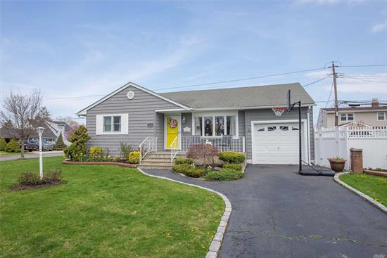 This Beautifully Remodeled Expanded Ranch Features Tons Of Updates, Including A New Bathroom, Crown Moldings, New Windows, New Slider And Front Refacing. Plenty Of Storage And Room To Entertain, Plus A Finished Basement With Den, Playroom/Exercise Room. Move Right In.