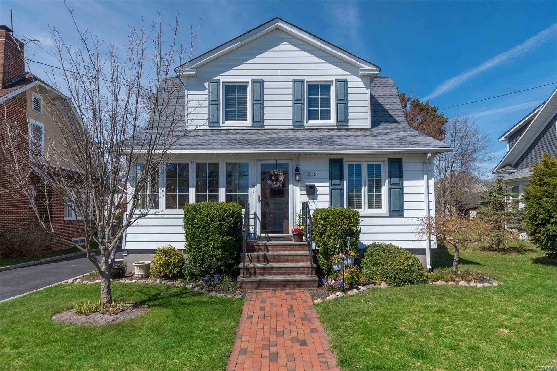 Pride of Ownership can be found in this Diamond Condition Dutch Colonial Home In The Heart Of Patchogue Village.You will Enter Into A Charming Sunlite Porch & immediately appreciate the craftsmanship of the old world charm this home has to offer.This home has been tastefully & meticulously updated to modern times yet it still keeps the character of yesteryear.Perfectly located & Close To The Village Restaurants & Entertainment & still Steps to the beach & Ferry.Low Taxes a must see !!!!