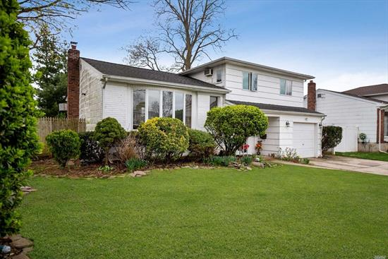 Huge Price Improvement!!Location, Location, Location!! This Large Split Level Home Sits At The End Of A Nice Quiet Cul De Sac. This Home Will Not Disappoint On Space! With A Huge Family Room w/ 1/2 Bath & Sliders To The Yard. Then To The Next Level w/ Another Large Living Space, Formal D/R, & Very Generous EIK. As You Go Up 1 More Level You Will Find A Full Bath, Large Master w/ Attached 1/2 Bath And 2 Addl. Bedrooms! This Is A Must See!!