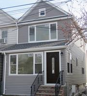 Single Family House fully renovated with full finished basement.