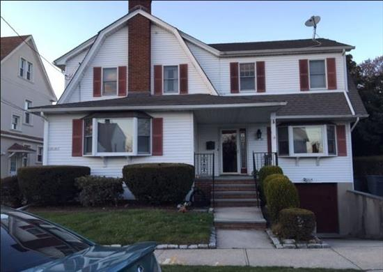 Spacious House Rental In Whitestone on 12th Rd! Features 4 Bedrooms, Living Room, Dining Room, Eat-In Kitchen and 1.5 Baths. Full Finished Basmement, Driveway, Garage, Use of Backyard Included. Pets Are Allowed! Tenants Are Responsible For Gas, Electric and Heat. Located Near Shops and Transportation. A Must See!!