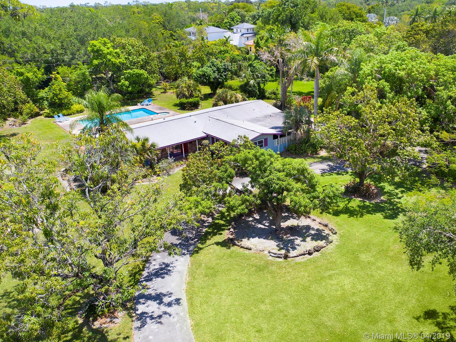 Exceptionally Well Located Acre Lot With Great Dimensions In The<Br />Northern Part Of Pinecrest. Existing 50'S Blt 3/2 Can Be Added To Or Build Your Dream Home In A<Br />Fabulous Location Surrounded By Many Acre And Half Acre Multi-Million<Br />Dollar New Mansions.  Over Sized Deep (8.5 Ft) Pool Far Enough Away<Br />From The House To Accommodate Any New Construction. Truly A Beautiful<Br />And Inviting Property.