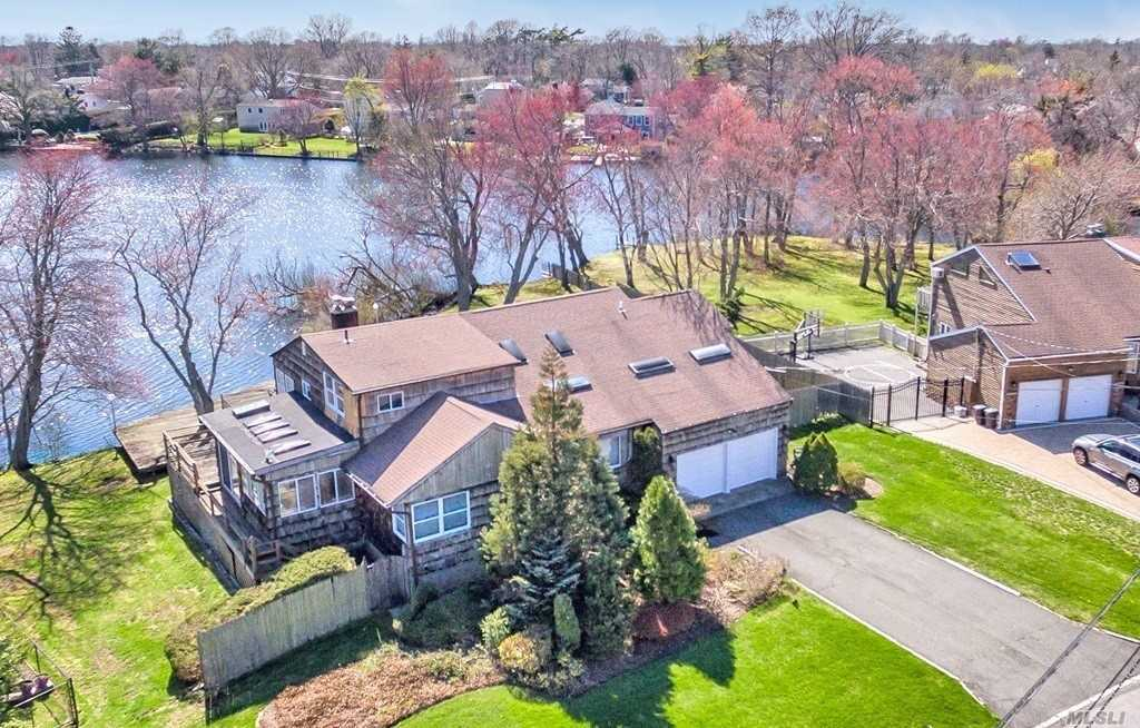 Beautiful Location For This Split W/ Full Bsmt. Home Sits W/ Panoramic Views Of Lake Capri In Your Back Yard. Relax In Your Yard With Peaceful And Tranquil Views. Master Bdrm Has Wonderful Views, And Loft Overlooks Huge Living Room. Taxes are being grieved by the homeowner