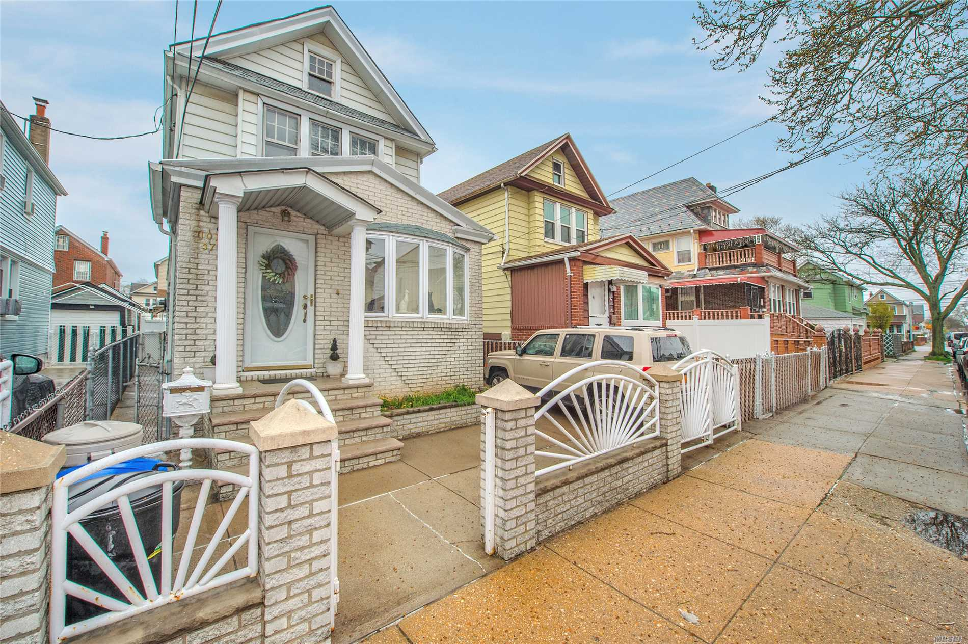 Excellent One Family With 3 Bedrooms, 2.5 Bath, Wooden Floors with Private Driveway And Garage. Basement Finished As Family Room With Separate Laundry Space. Attic For Plenty Of Storage Space. Close To All.