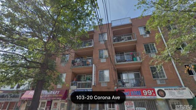 2008 Built Young Brick Mixed Use Building On Corona Ave. 3 Families & 2 Commercial Units ! Very Good Location ! Very Good Condition !! Very Good Income !!! Total 8 Bed Rooms & 7 Baths & 2 Commercial Units Income ! total Rental Income @ $12, 000 per month, @ $144000 per yr.