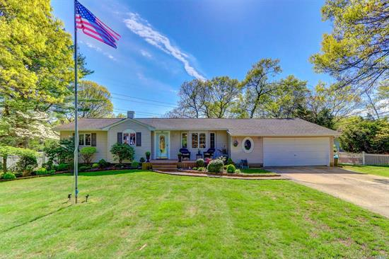 Sprawling Expanded Ranch in desirable Bird section, Commack schools, low taxes $8, 846.54 w/basic star, .55 acre park-like lot, Updated Eat in Kitchen w/Den to huge Deck; Dining Room overlooking Rear Yard; Gleaming Hardwood Floors, Crown Moldings, Central Air; Economic Gas heat, Full Basement w/Rec Room, Walk in Closet & New Full Bath;  Oversized 2 Car Garage w/interior Access. Close to all Parkways/Shops/Parks/Beaches & Houses of Worship.  A Commuters Dream.