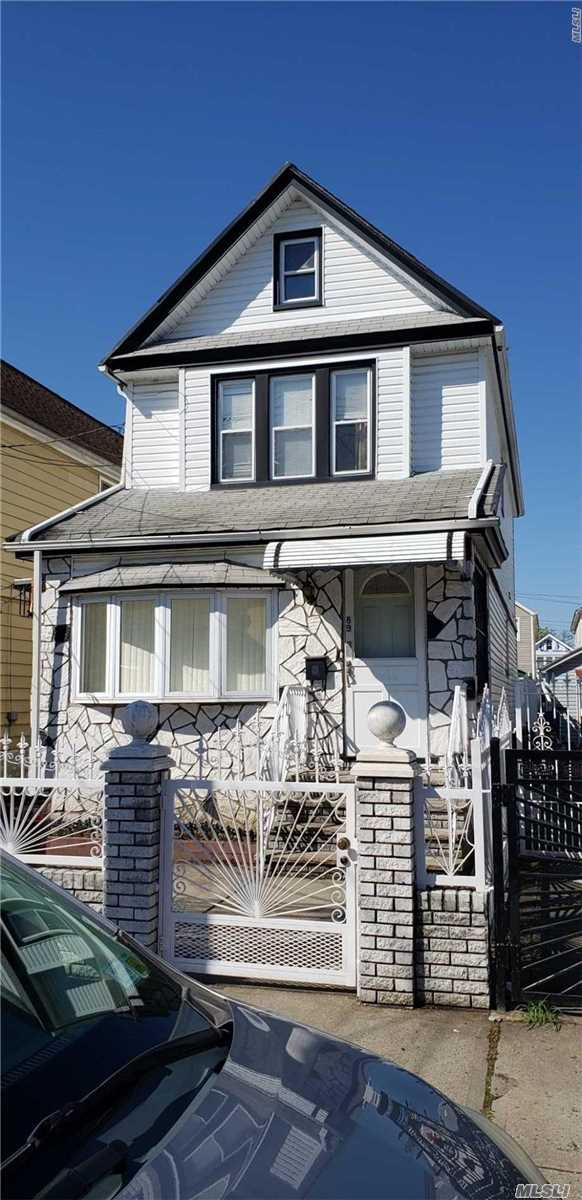 eautiful Two Family , all fully renovated- Kitchen, Bath, Hard wood floors, Very desirable Area, near Hillside Ave, walk to F trains and buses.Close to Highways, Schools and Shopping