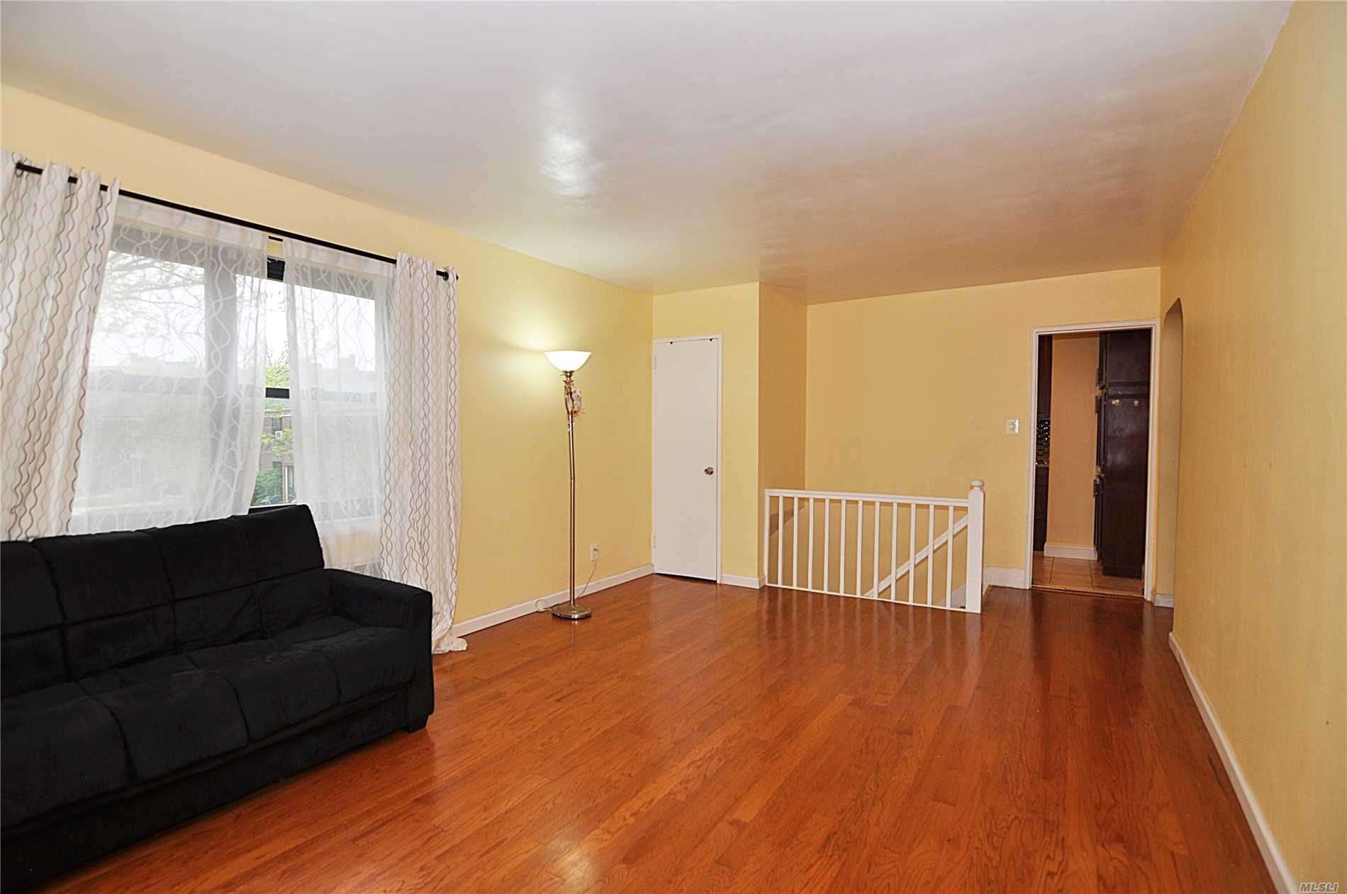 Mint! True Corner Upper Unit, Set Back In Deep Courtyard, Updated Kitchen, Sparkling Floor Throughout, Brand New Storm And Front Doors/Windows.Private Entrance, Bbq Ok, Parking Inc, Sd26. Qm5, Qm8, Q88, Q27, Lirr, Near Parks, Shops, School, Restaurants, Security, Pet Friendly, Rent Ok, No Flip Tax, Maintenance Includes All Except Electricity, Private Entrance, Washer/Dryer Inside, Attic For Storage, 5 Laundry On Premise, 100% Equity Coop, Maintenance Tax Deductible, Lots Of Closets,