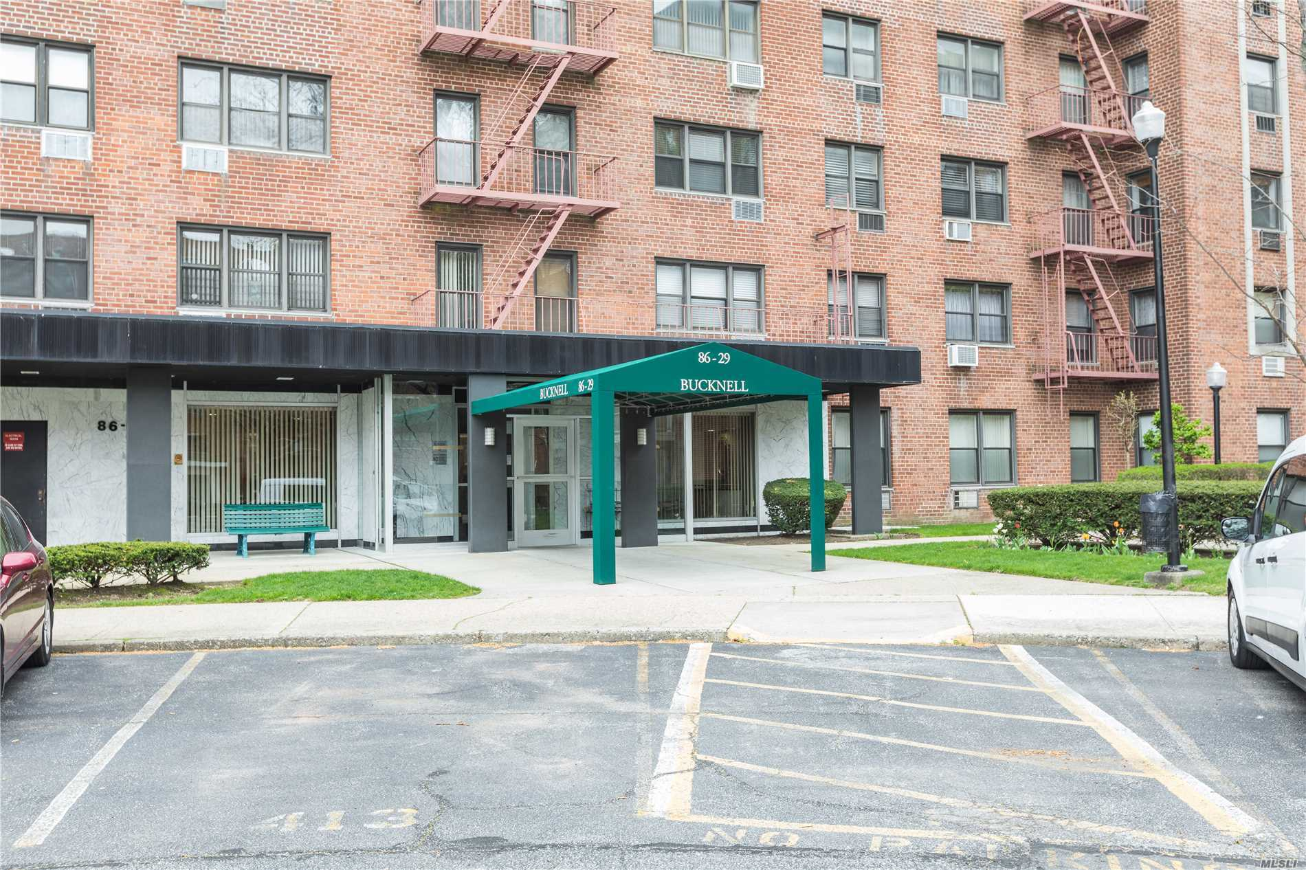 Welcome to Lindenwood Owners Corp. Beautifully well maintained grounds. This unit entertains 2 large bedrooms, lots of closet space thru-out. Spacious living room, dining area and kitchen with access to a large terrace with wonderful tree lined views. A wonderful place to call home with easy access to everything.