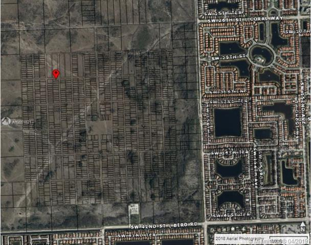 Excellent Opportunity To Purchase A Residential Land/Lot For Upcoming Development In Sw Dade