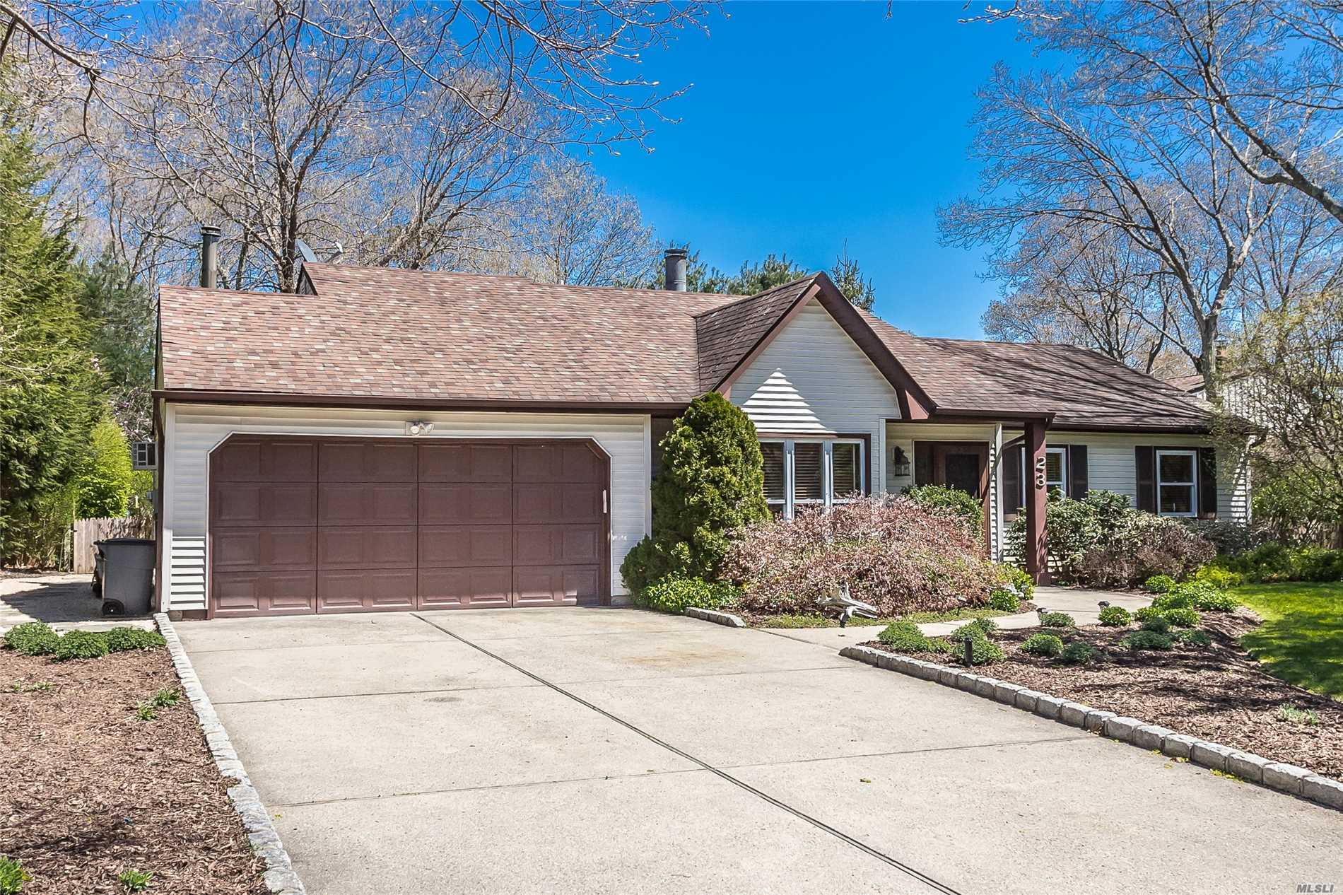 Quaint 4 Bedroom 2 Bath Ranch Nestled In Nearby Ridge Conservation Observation Area. This House Has New Wood Flooring t With Double Sided Fireplace, Eat In Kitchen. Deck off the Back, Great For Entertaining. Peaceful And Park Like Backyard With Added Water Feature. Using Only Organic Landscaping Materials. 2 Car Air Conditioned Garage...MUST SEE!