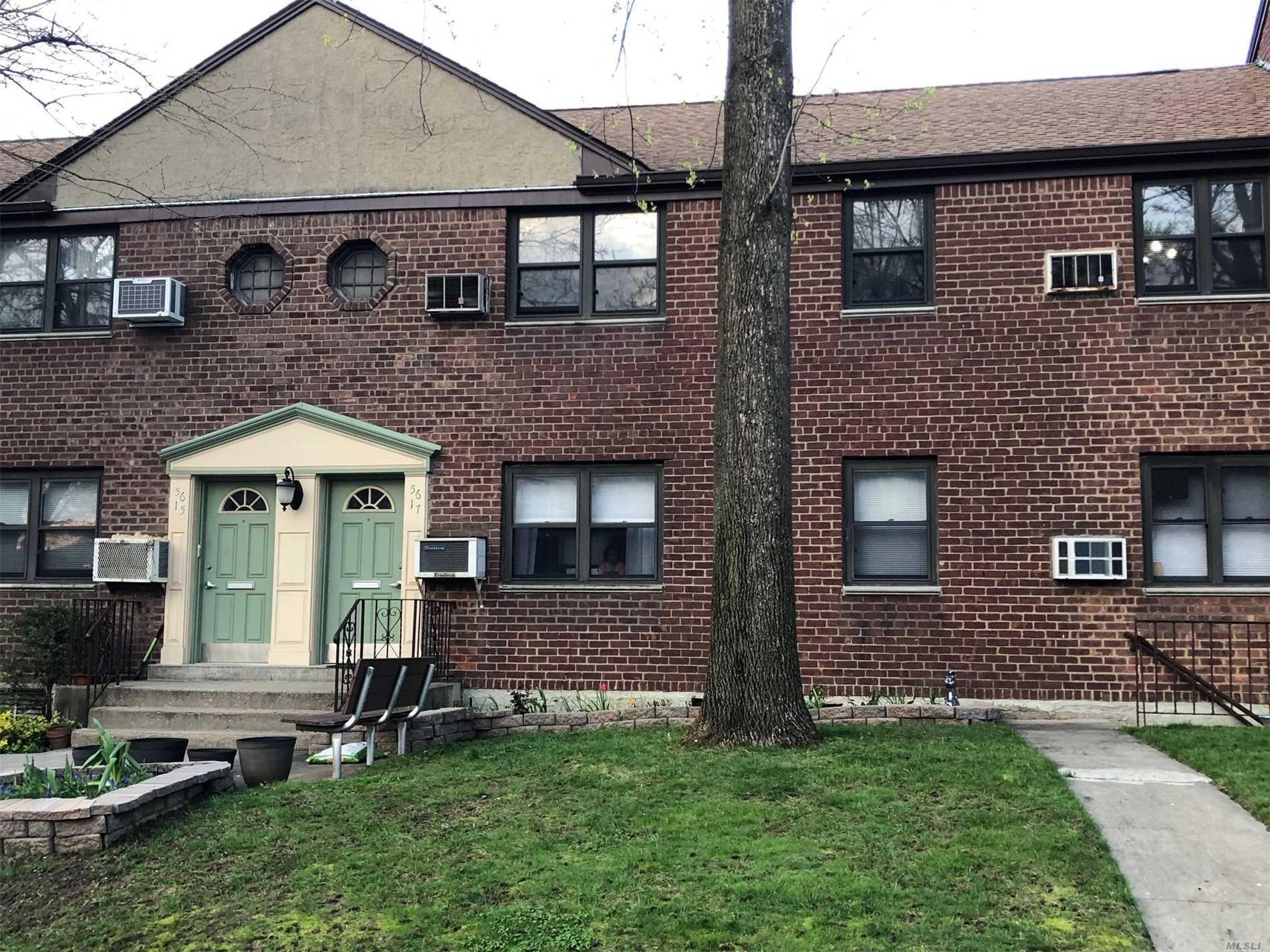 TRUE 3 BEDROOM! Updated ground floor unit in Beech Hills. Property includes beautiful hardwood floors, an updated kitchen and bath, dining room and three generously sized bedrooms with large closets. Located in award winning District 26. Maintenance includes water, gas, heat, electric & private sanitation. Buyer must meet coop requirements.