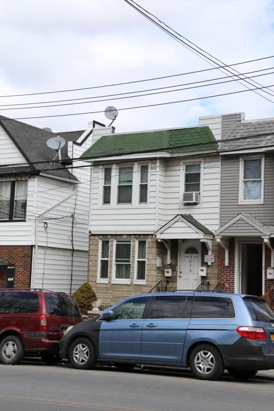 Lovely Apartment For Rent On Fresh Pond Road. Features 3 Spacious Bedrooms, Living Room, Dining Room, Eat In Kitchen & 1 Full Bathroom. Heat & Water Included. Hardwood Flooring Throughout. Lots Of Natural Sun Light & Closet Space. Ample Street Parking. Close To Shops And Transportation.
